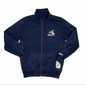 Mens Red Sox Full Zip Athletic Jacket NWT Size M